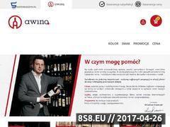 Miniaturka awino.pl (Sklep z winami)