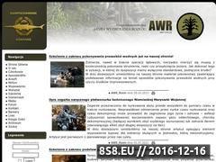 Miniaturka awr.one.pl (AWR On-Line - Centrum Informacyjne AWR)