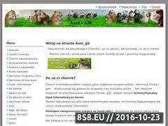 Miniaturka domeny axel-gb.webnode.com