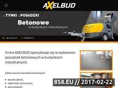 Miniaturka domeny www.axelbud.pl