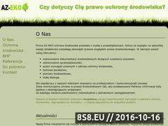 Miniaturka domeny az-eko.pl