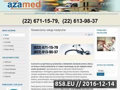 Miniaturka domeny www.azamed.pl