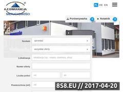Miniaturka azg.net.pl (Biuro Nieruchomości Opole)