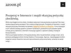 Miniaturka domeny www.azoon.pl