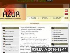Miniaturka domeny www.azur.com.pl