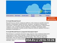 Miniaturka azurecloud.pl (Microsoft Azure: parametry, możliwości i licencjonowanie)