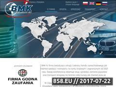 Miniaturka b-m-k.pl (Handel samochodowy oraz spedycja i transport)