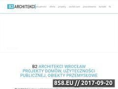 Miniaturka domeny www.b2architekci.pl