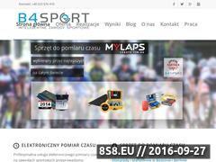 Miniaturka Pomiar czasu na zawodach i wsparcie imprez (b4sport.pl)