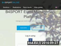Miniaturka System zapisów na zawody (b4sportonline.pl)