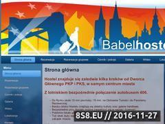 Miniaturka domeny babelhostel.pl