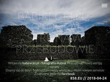 Zrzut strony Fotografia Ślubna