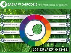 Miniaturka domeny babkawogrodzie.pl