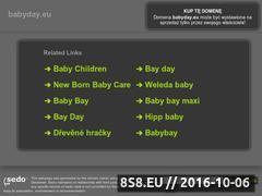 Miniaturka domeny www.babyday.eu