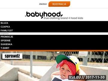 Zrzut strony Ubranka dla niemowląt i małych dzieci