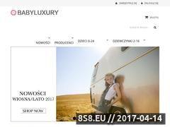 Miniaturka domeny www.babyluxury.pl