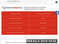Miniaturka badania-medyczne.pl (Badania krwi bez czekania i bez skierowania)