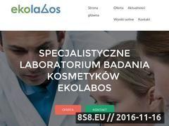 Miniaturka domeny badaniekosmetykow.pl