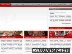 Miniaturka domeny www.badanieojcostwa.pl
