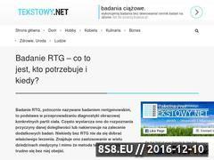Miniaturka domeny badaniertgbydgoszcz.pl