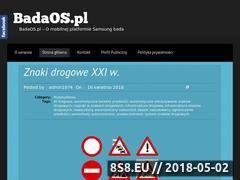Miniaturka badaos.pl (Fantastyka i własne myśli)