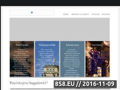Miniaturka domeny www.bagazowkapoznan.pl