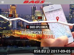 Miniaturka bags.com.pl (Przewozy i wynajem autokarów)