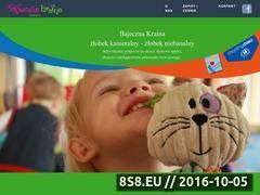 Miniaturka www.bajecznakraina.waw.pl (Dodatkowe zajęcia w żłobku)