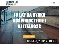 Miniaturka domeny bajeczneschody.pl
