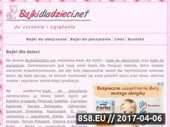 Miniaturka domeny bajkidladzieci.net