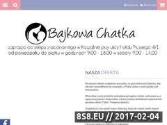 Miniaturka domeny www.bajkowachatka.pl