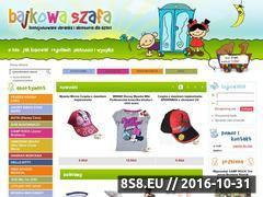 Miniaturka domeny www.bajkowaszafa.com