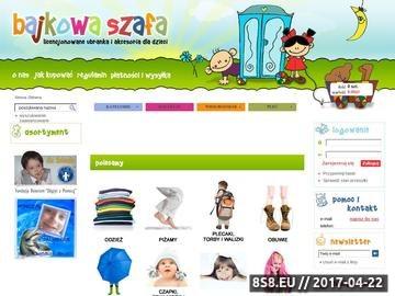 Zrzut strony Bajkowa Szafa - Zabawki