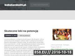 Miniaturka domeny bakalarska34.pl