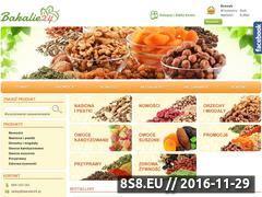Miniaturka domeny www.bakalie24.pl