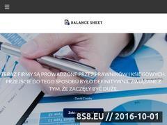Miniaturka Usługi rachunkowe, księgowość oraz rozliczenia firm (balancesheet.pl)