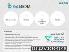 Miniaturka domeny balmedia.pl