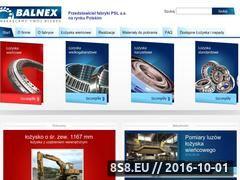 Miniaturka domeny www.balnex.pl