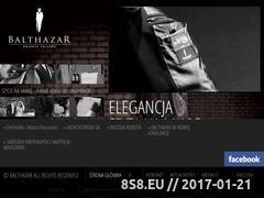 Miniaturka domeny balthazar.pl
