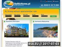 Miniaturka baltichome.pl (Apartamenty Świnoujście)