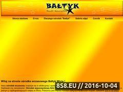 Miniaturka domeny www.baltykwicie.pl