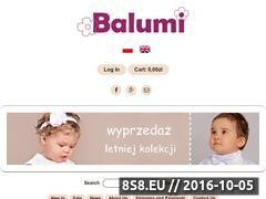Miniaturka domeny balumi.com.pl