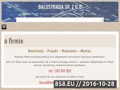Miniaturka domeny balustrada.szczecin.pl