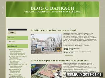 Zrzut strony Bankblog.com.pl - finanse od podstaw