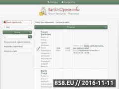 Miniaturka domeny www.banki-opinie.info