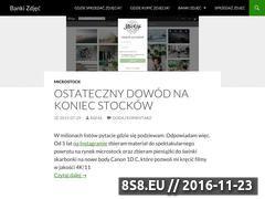 Miniaturka domeny www.banki-zdjec.pl