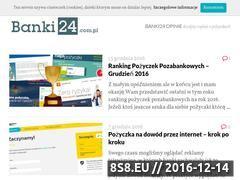 Miniaturka domeny www.banki24.com.pl