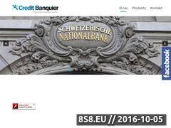 Miniaturka domeny bankierkredyty.eu