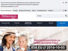 Miniaturka domeny bankmillennium.pl