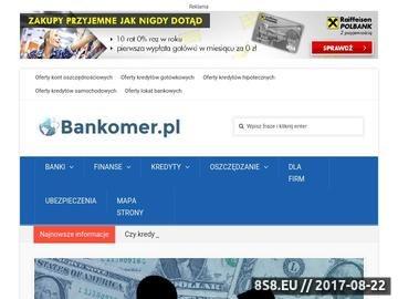 Zrzut strony Bankomer